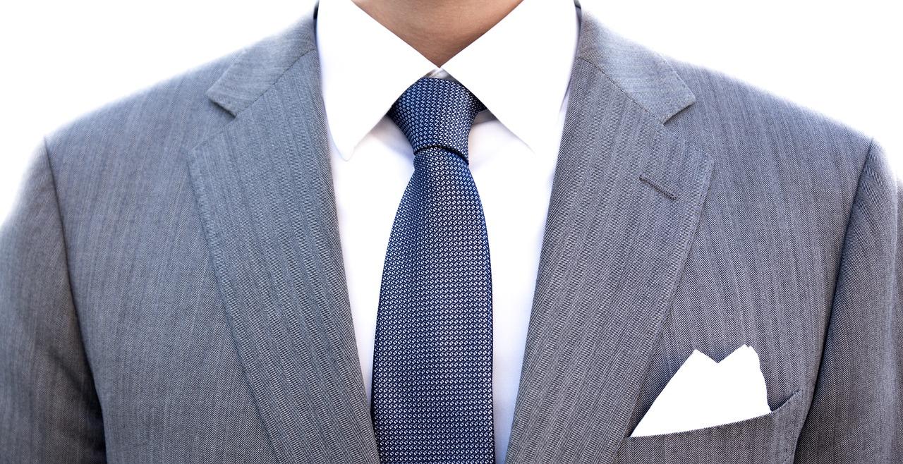 スーツ柄シャークスキン