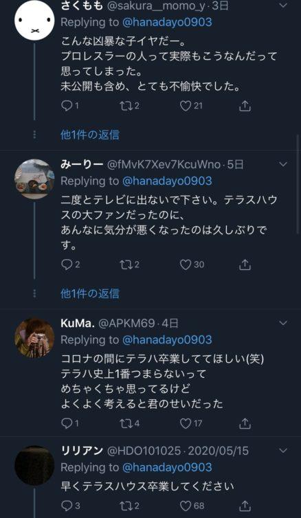 ツイッター木村花_誹謗中傷
